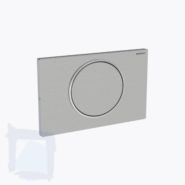 GEBERIT Sigma10 Betätigungsplatte / Abdeckplatte mattchrom