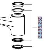 Dichtungs-Set Z.536.259 (Ersatz für Z.534.942)