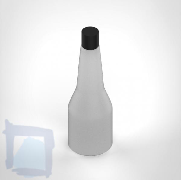 Flasche weiss zu KWC Seifenspender 350 ml