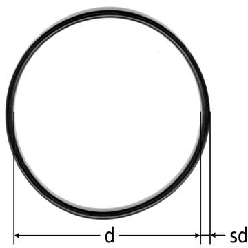 O-Ring zu Führungsbolzen