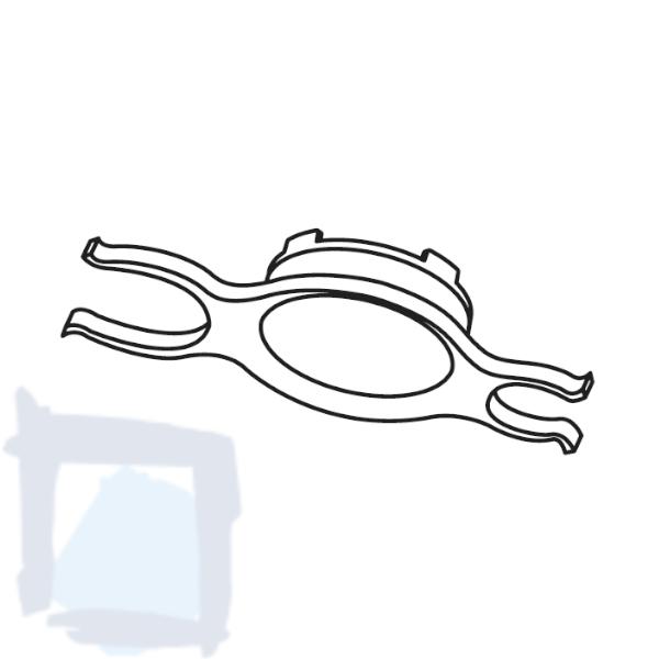 KWC Schlüssel zu Brausesieb