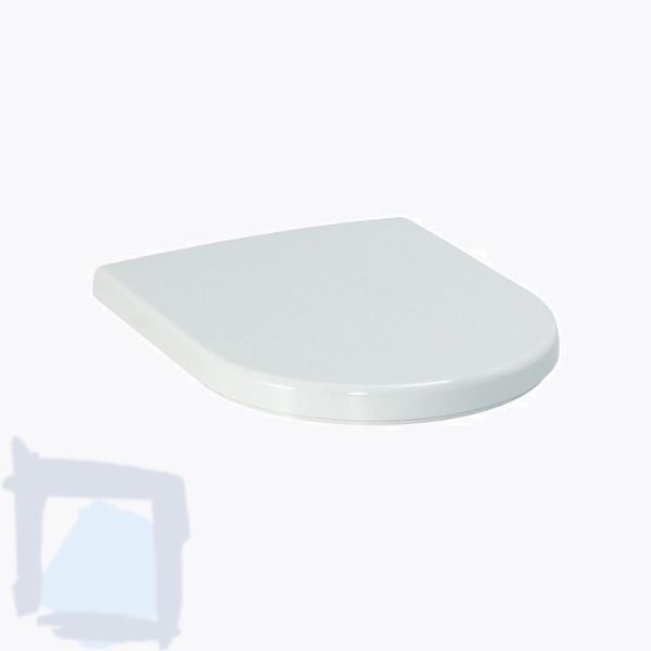 WC-Sitz Laufen Moderna R aus Duroplast mit Absenkautomatik