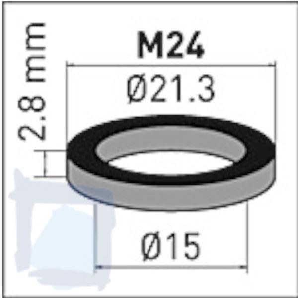 NEOPERL® Gummidichtung zu Innenteil M24