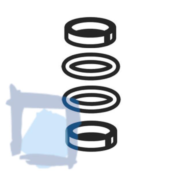 Gleitring/O-Ring-Set