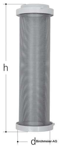 JRG Ersatzfiltereinsatz Inox-Gebwebe (V4A)