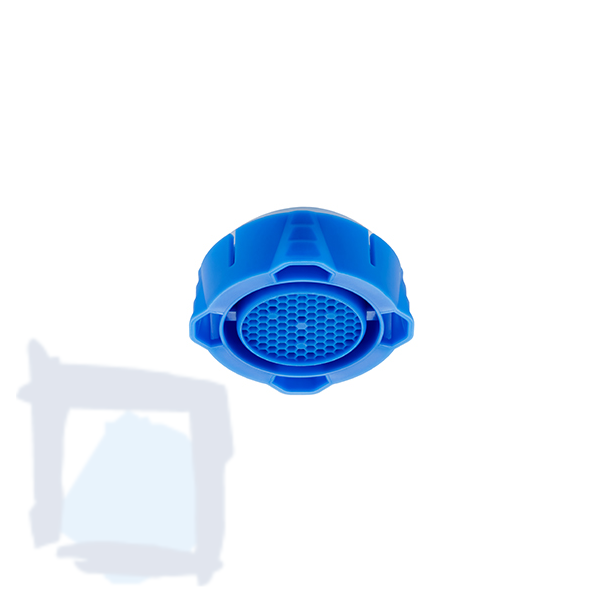 Neoperl Clinic Snap Honeycomb Strahlregler blau