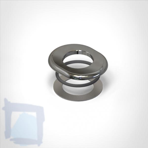 Unterlagsplatte oval D70/34