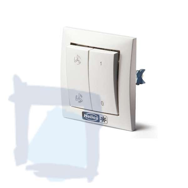 Helios MVB Schalter 0-1-2 für Multivent Rohr-Ventilatoren mit 2 Stufen