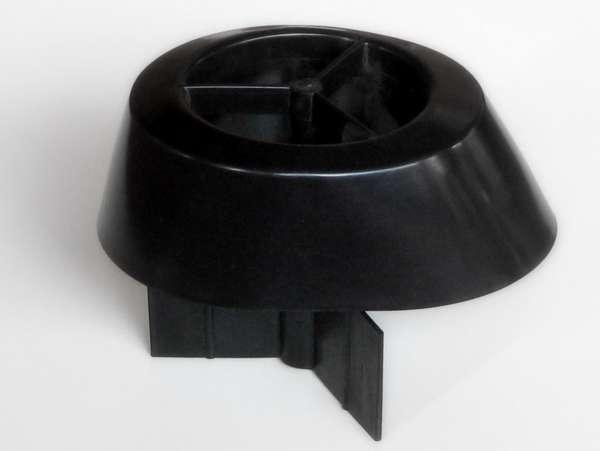 Abschlusszarge schwarz BIMAG 100S