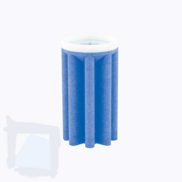 Sikusieb Optimum 50–70 µm blau