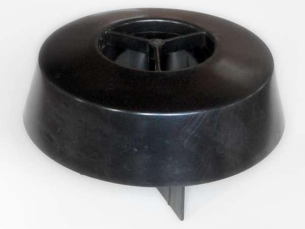 Abschlusszarge schwarz BIMAG 100FI