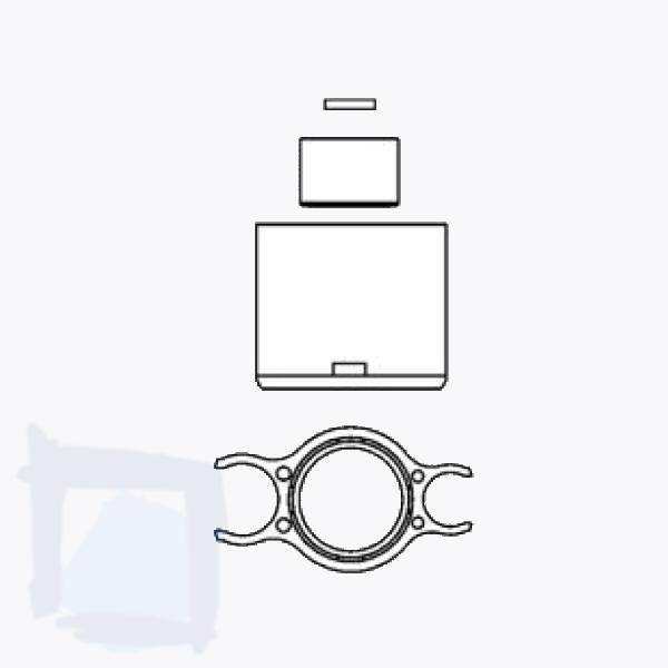 Düsenset zuTwinplus / Scala Auszugsbrause